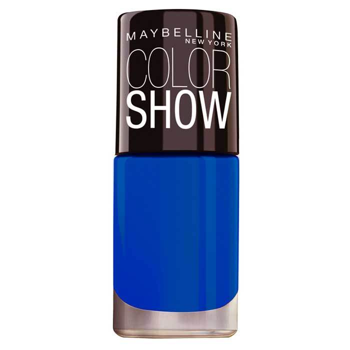 Buy Maybelline New York Color Show Nail Color Bright Sparks Blazing Blue 706-Purplle