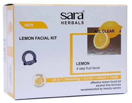 Buy Sara Lemon Facial Kit-Purplle