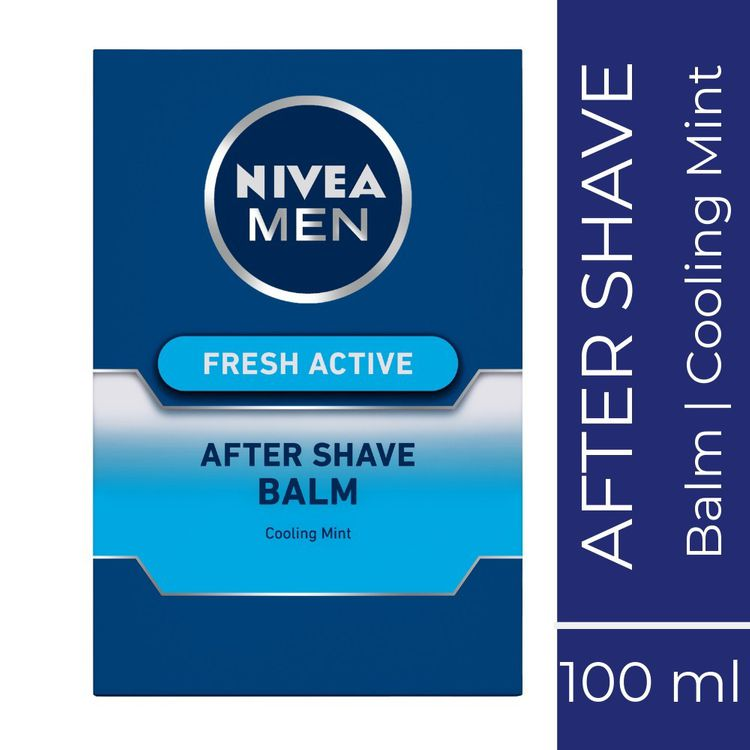 Buy NIVEA MEN Shaving, Fresh Active After Shave Balm, 100ml-Purplle