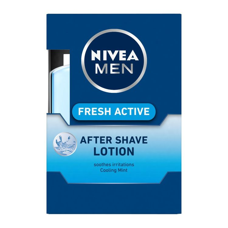 Buy NIVEA MEN Shaving Fresh Active After Shave Lotion 100ml-Purplle