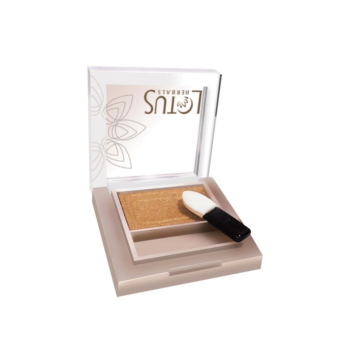 Buy Lotus Herbals Pure Radiance Eye Shadow Goldmine (1.6 g)-Purplle