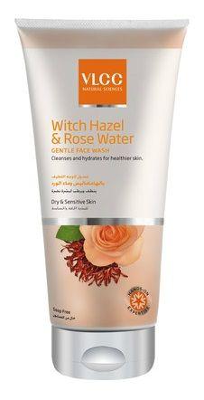 Buy VLCC Witch Hazel & Rose Water Gentle Face Wash (175 ml)-Purplle