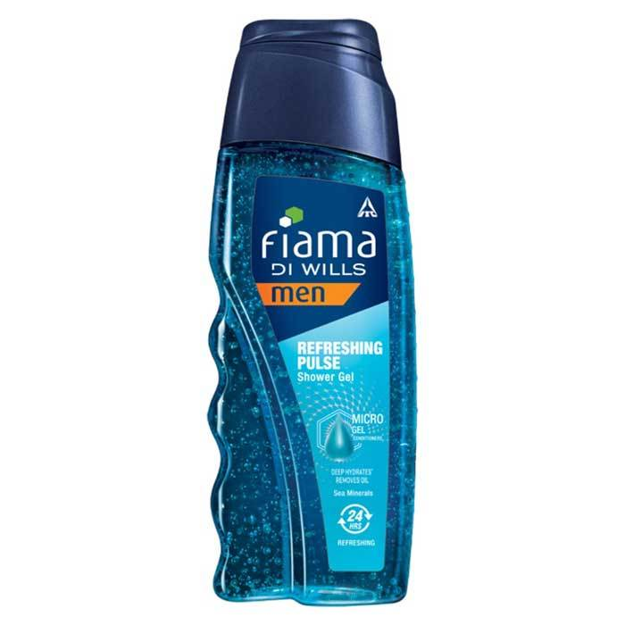 Buy Fiama Di Wills Men Refreshing Pulse Shower Gel (250 ml)-Purplle