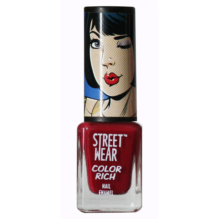Buy Streetwear Color Rich Nail Enamel - After Party 4 (5 ml)-Purplle