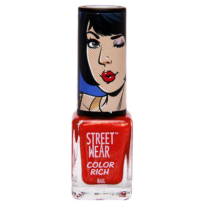 Buy Streetwear Color Rich Nail Enamel - Traffic Stopper 10 (5 ml)-Purplle