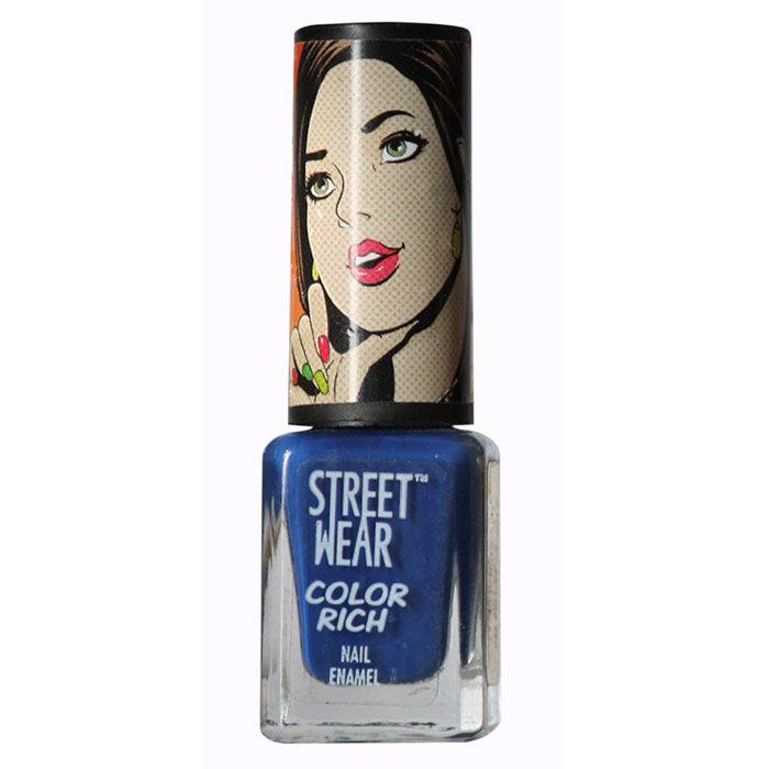 Buy Streetwear Color Rich Nail Enamel - Get Inked 14 (5 ml)-Purplle