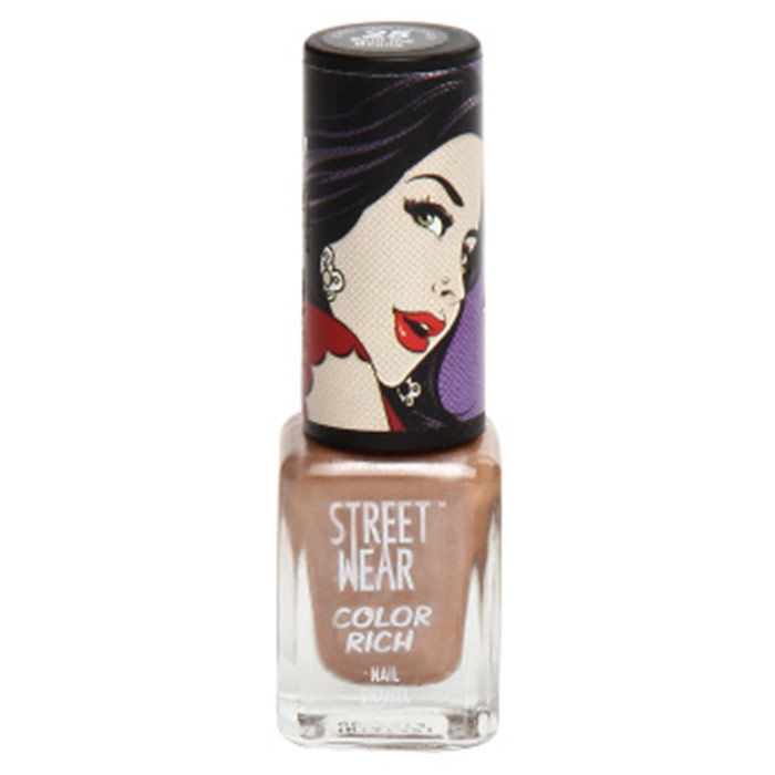 Buy Streetwear Color Rich Nail Enamel - Spill The Beans 25 (5 ml)-Purplle