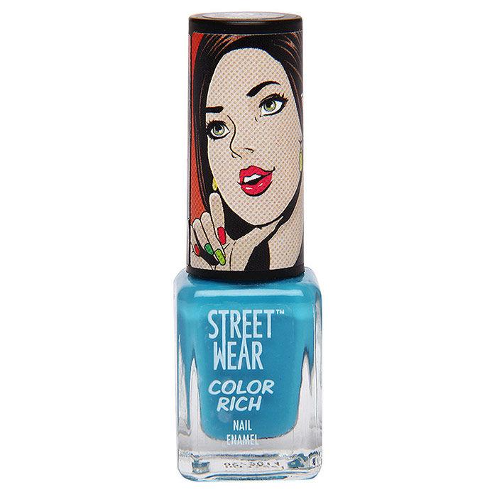 Buy Streetwear Color Rich Nail Enamel - Sapphire Sensation 30 (5 ml)-Purplle