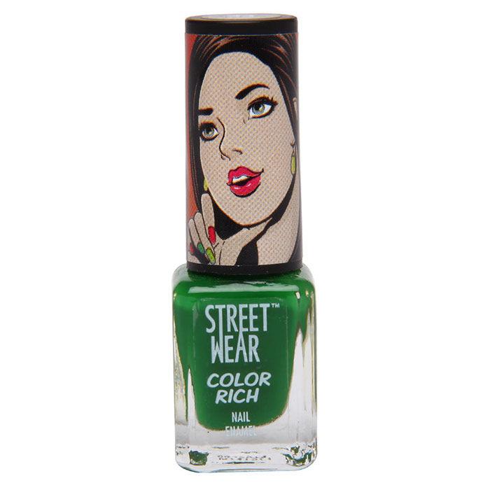 Buy Streetwear Color Rich Nail Enamel - Emerald Eyes 33 (5 ml)-Purplle