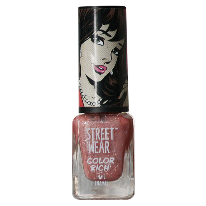 Buy Streetwear Color Rich Nail Enamel - Rose Affair 45 (5 ml)-Purplle