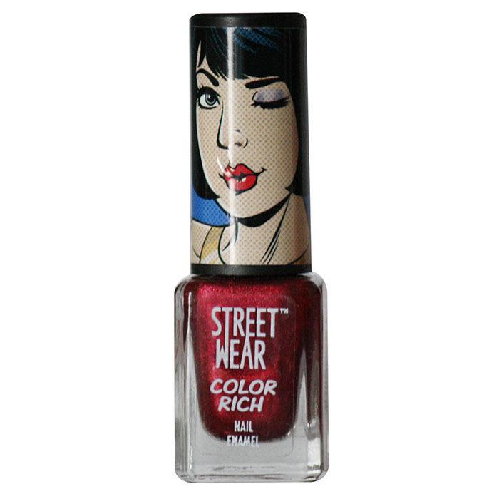 Buy Streetwear Color Rich Nail Enamel - Bedside Blush 3 (5 ml)-Purplle