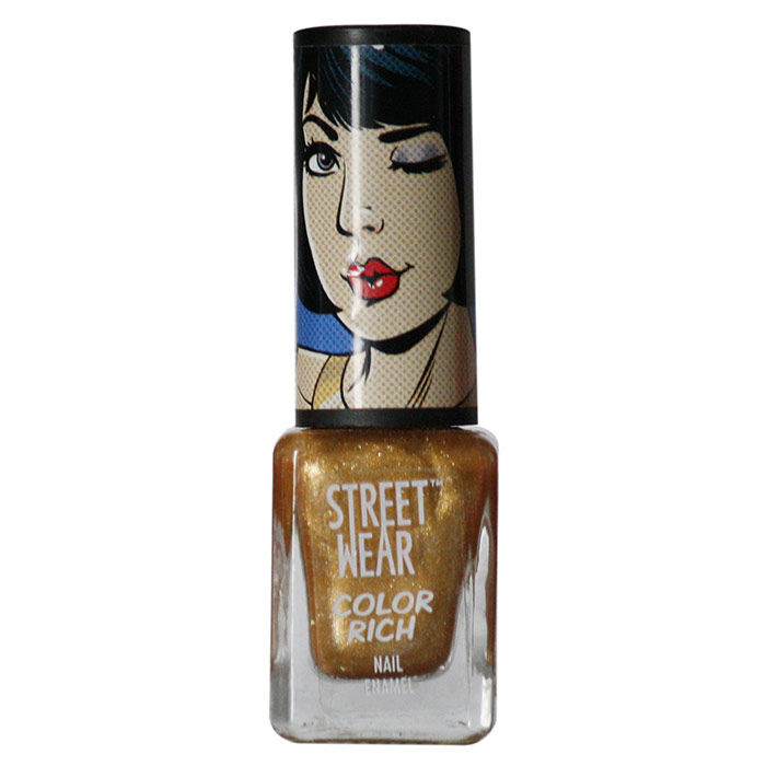 Buy Streetwear Color Rich Nail Enamel - All You Need 12 (5 ml)-Purplle