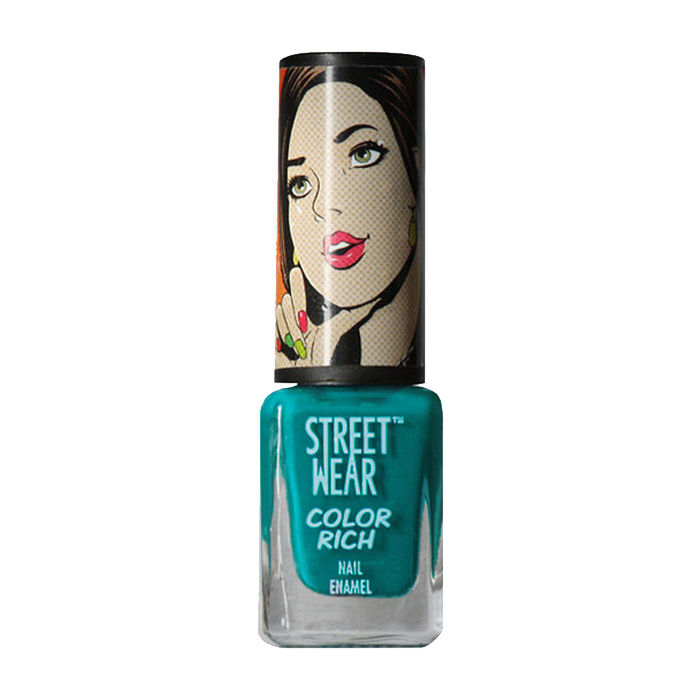 Buy Streetwear Color Rich Nail Enamel - Lady Blue Eyes 32 (5 ml)-Purplle