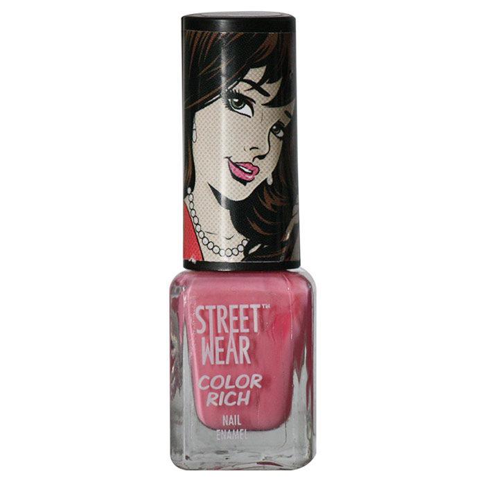 Buy Street Wear Color Rich Nail Enamel Be Mine 41 (5 ml)-Purplle