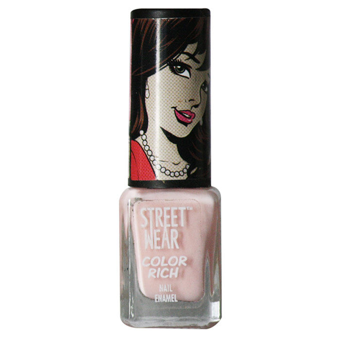 Buy Streetwear Color Rich Nail Enamel - Dreamy Pink 49 (5 ml)-Purplle