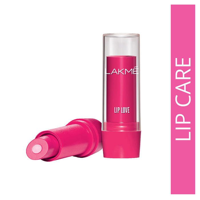 Buy Lakme Lip Love Lip Care - Strawberry (3.8 g)-Purplle
