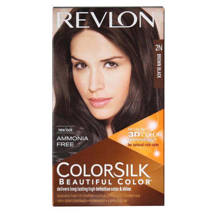 Buy Revlon Colorsilk Hair Color Brown Black 2n 40 Ml Find