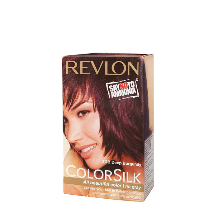 Buy Revlon Colorsilk Hair Color Deep Burgundy 3DB-Purplle
