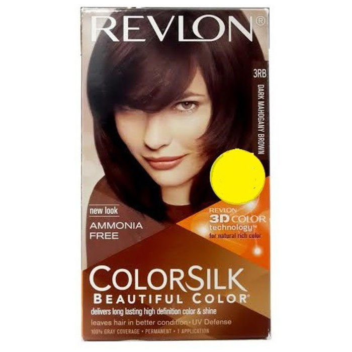 Buy Revlon Colorsilk Hair Color Mahogany Brown 3rb 40 Ml Find