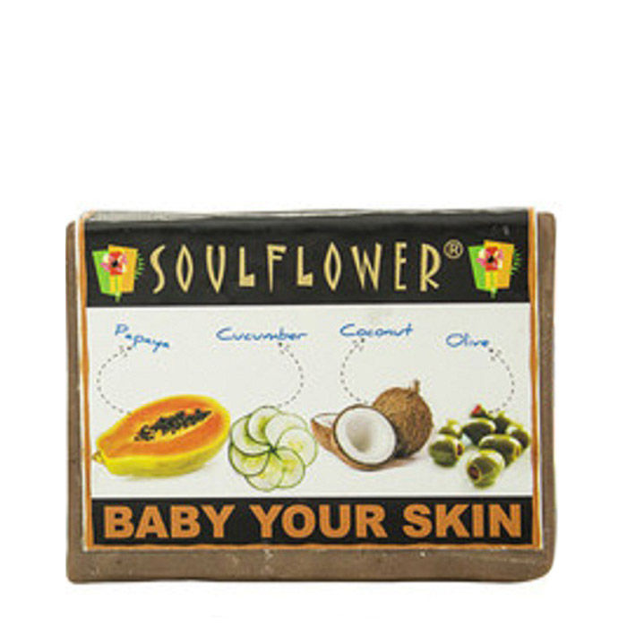 Buy Soulflower Soap Baby Your Skin- Sample-Purplle
