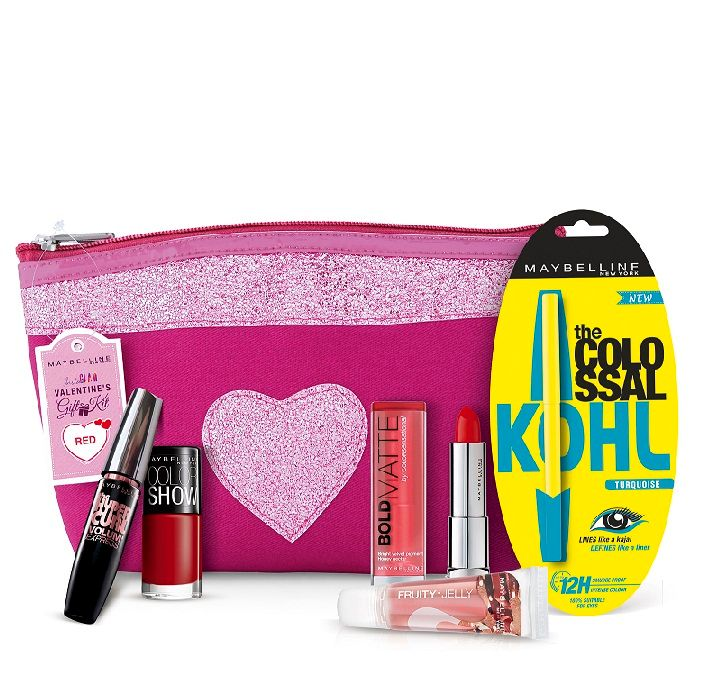 Buy Maybelline Instaglam Valentine Pouch Red-Purplle