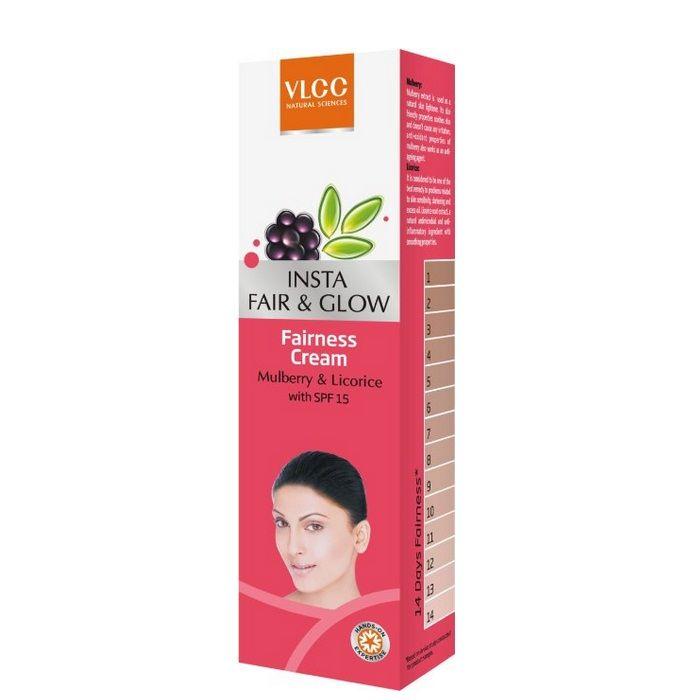 Buy VLCC Insta Fair&Glow Fairness Cream (25 g)-Purplle