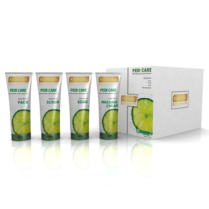 Buy Richfeel Pedi Care With Natural Lemon Extracts (100 g)-Purplle