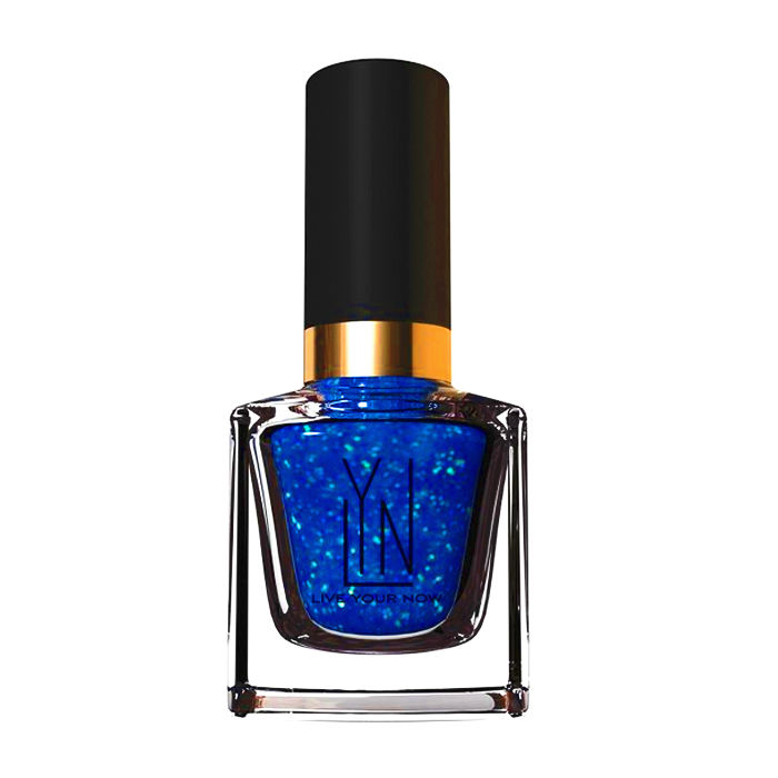 Buy LYN Nail Polish Blue Blaze Blizard (12 ml)-Purplle