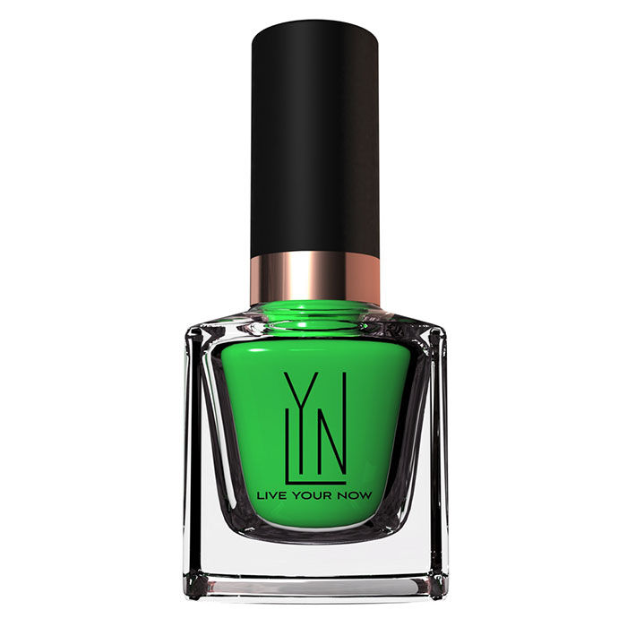 Buy LYN Nail Polish Evagreen (12 ml)-Purplle