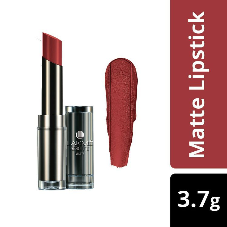 Buy Lakme Absolute Matte Lipstick Maroon Magic (3.7 g)-Purplle