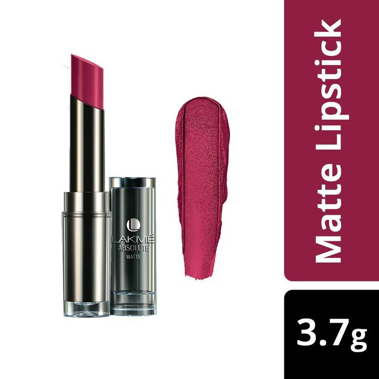 Buy Lakme Absolute Matte Lipstick Crimson Touch (3.7 g)-Purplle