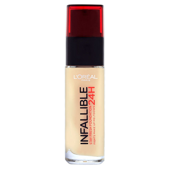 Buy L'Oreal Paris Infallible 24H Liquid Foundation 120 Vanilla (30 ml)-Purplle