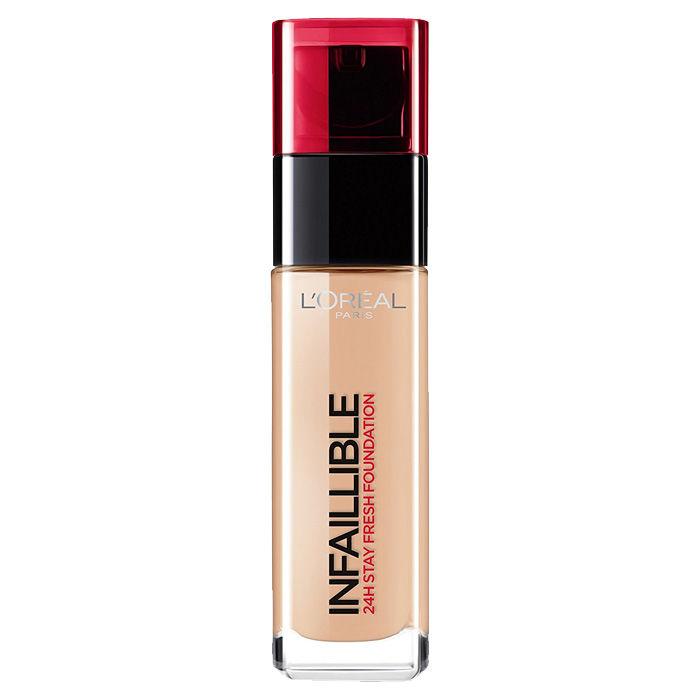Buy L'Oreal Paris Infallible 24H Liquid Foundation 145 Rose Beige (30 ml)-Purplle