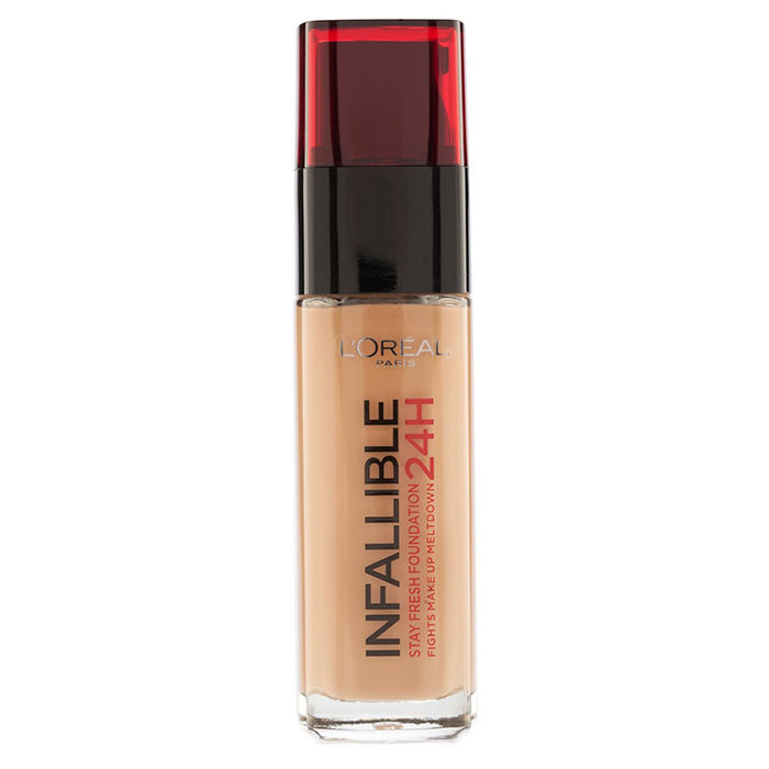 Buy L'Oreal Paris Infallible 24H Liquid Foundation 300 Amber (30 ml)-Purplle