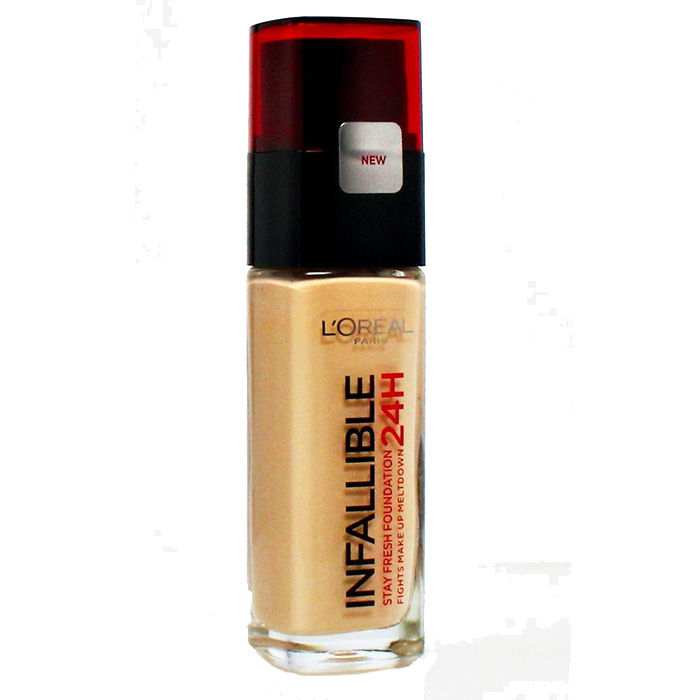 Buy L'Oreal Paris Infallible 24H Liquid Foundation 320 Toffee (30 ml)-Purplle
