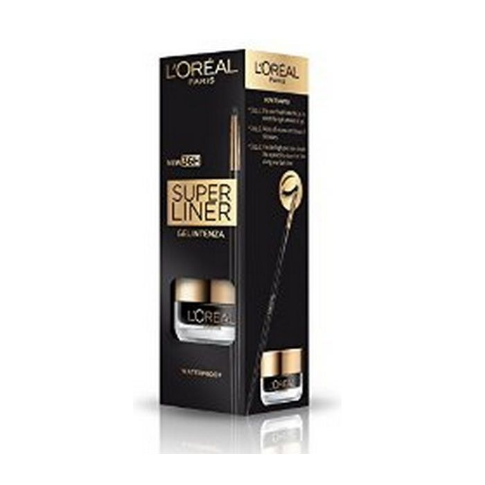 Buy L'Oreal Paris Super Liner Gel Intenza 36H Chic Brown (2.8 g)-Purplle