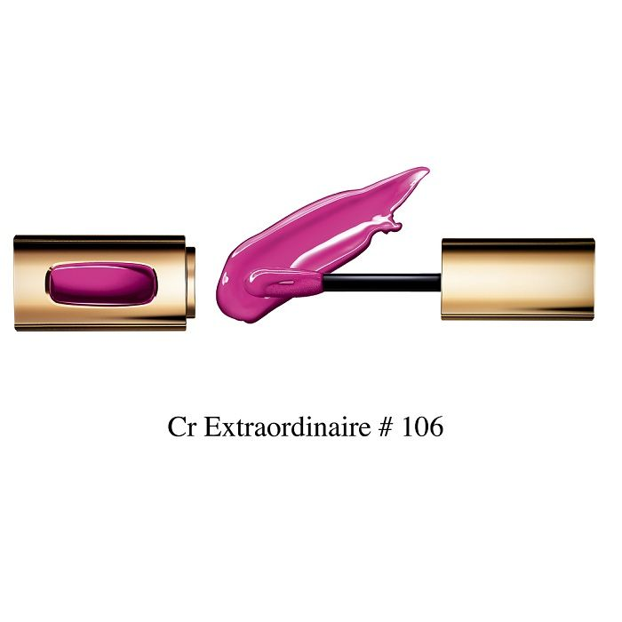 Buy L'Oreal Paris Colour Riche Extraordinaire Lip Gloss Fuschia Orchestra 106 (5.5 ml)-Purplle