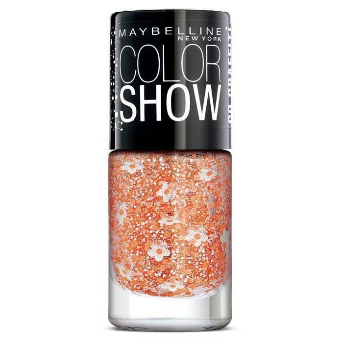 Buy Maybelline New York Color Show Go Graffiti Flower Power Nail Polish 801 (6 ml)-Purplle