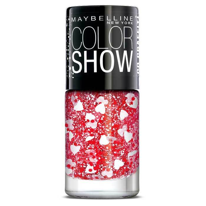 Buy Maybelline New York Color Show Go Graffit Pop Goes My Heart Nail Polish 803 (6 ml)-Purplle