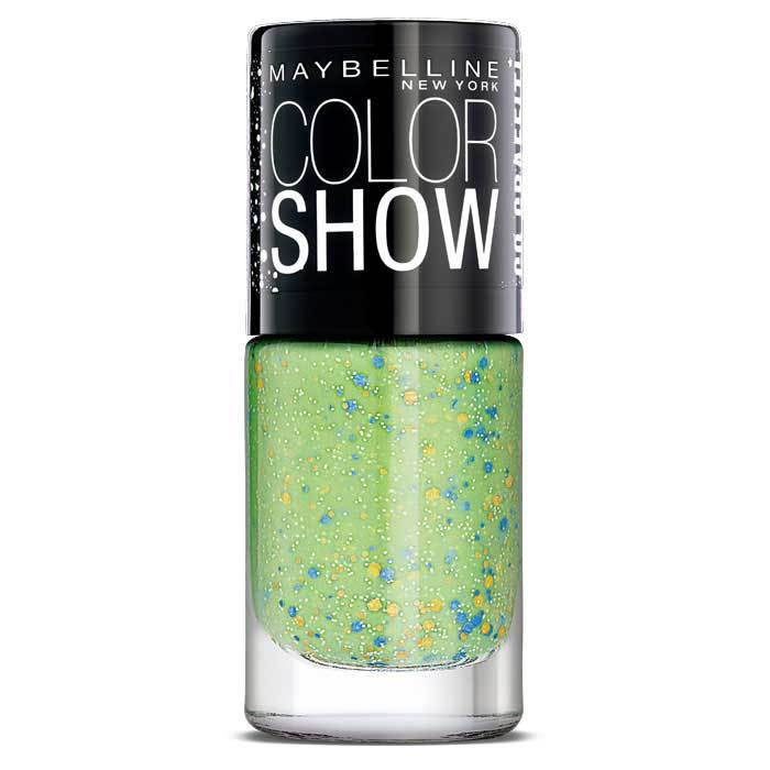 Buy Maybelline New York Color Show Go Graffit Green Graffiti Nail Polish 804 (6 ml)-Purplle