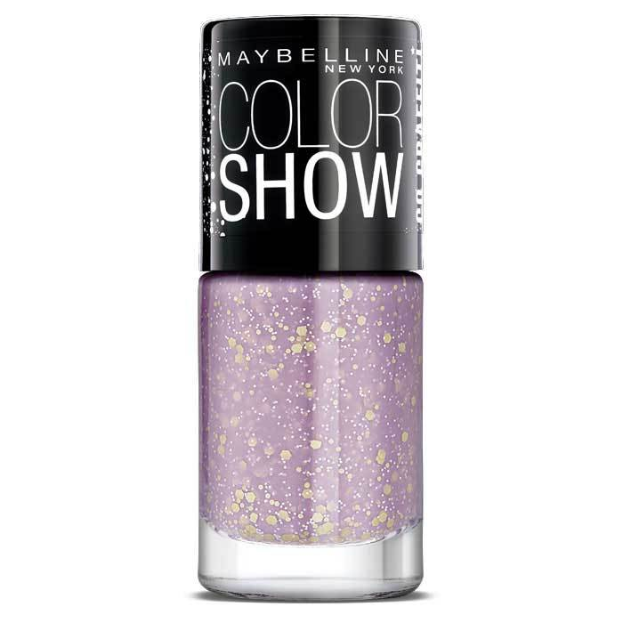 Buy Maybelline New York Color Show Go Graffit Lucky Lavender Nail Polish 805 (6 ml)-Purplle