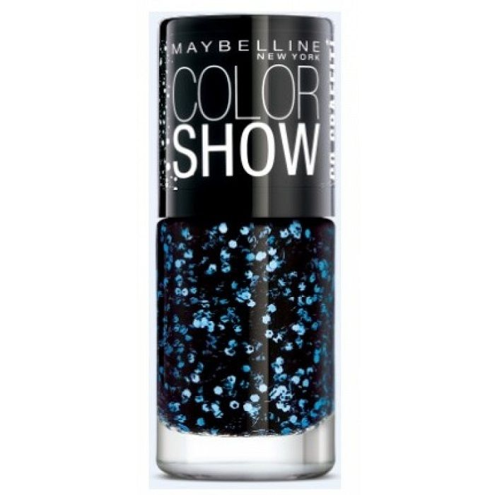 Buy Maybelline New York Color Show Go Graffit Blue Beats Nail Polish 807 (6 ml)-Purplle