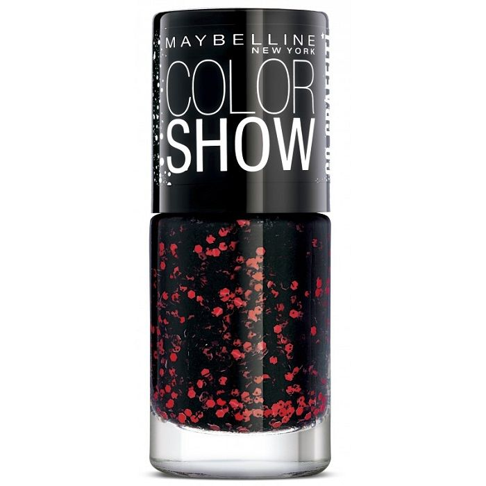 Buy Maybelline New York Color Show Go Graffit Red Splatter Nail Polish 808 (6 ml)-Purplle