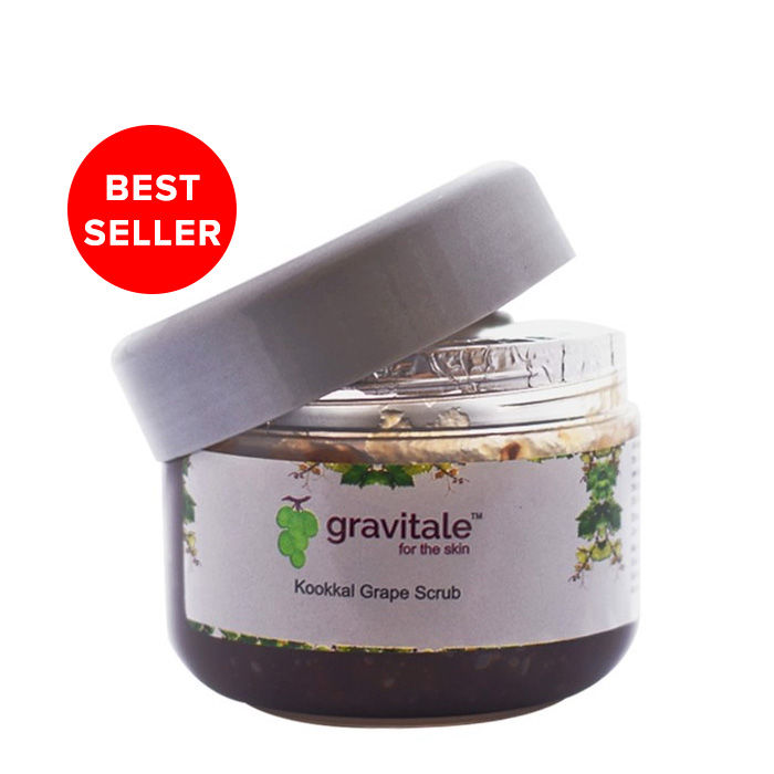 Buy Gravitale Kookkal Grape Scrub (200 g)-Purplle