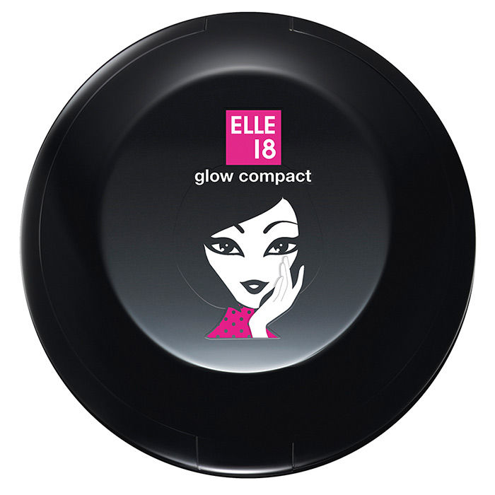 Buy Elle 18 Glow Compact Shell (8 g)-Purplle