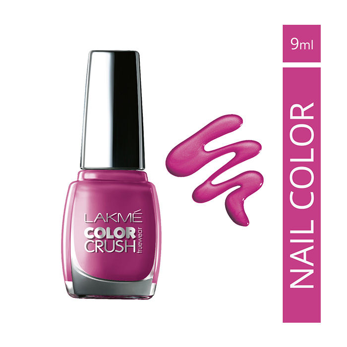 Buy Lakme True Wear Color Crush Nail Color Pinks 18 (9 ml)-Purplle