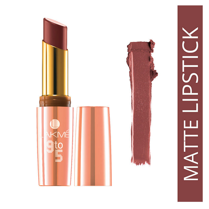 Buy Lakme 9 to 5 Matte Pink Aggressive MP6 (3.6 ml)-Purplle