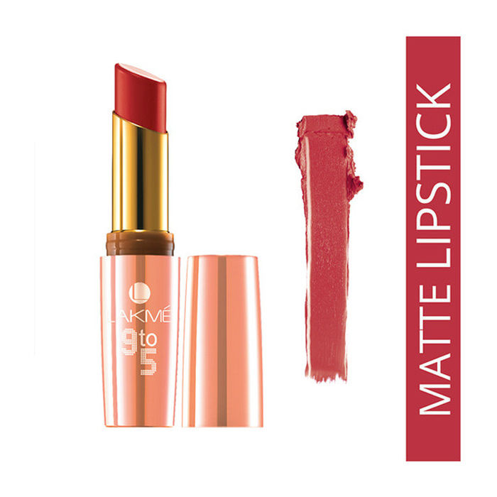 Buy Lakme 9 to 5 Matte Red Letter MR9 (3.6 ml)-Purplle