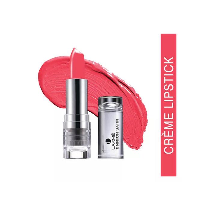 Buy Lakme Enrich Satin Lip Color Shade P165 (4.3 g)-Purplle