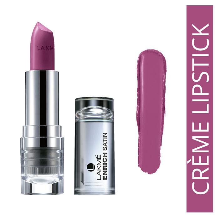 Buy Lakme Enrich Satin Lip Color Shade P170 (4.3 g)-Purplle